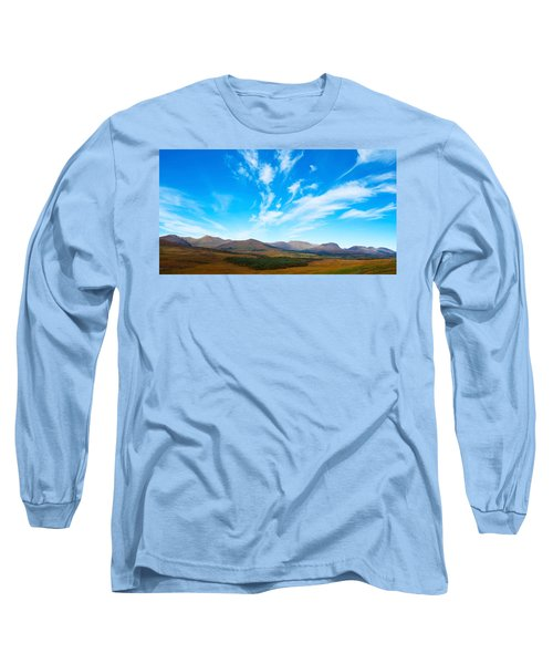 Mountain Views Of The Macgillicuddys Long Sleeve T-Shirt