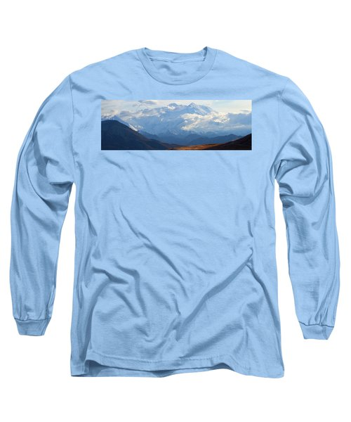 Long Sleeve T-Shirt featuring the photograph Mt. Denali by Ann Lauwers