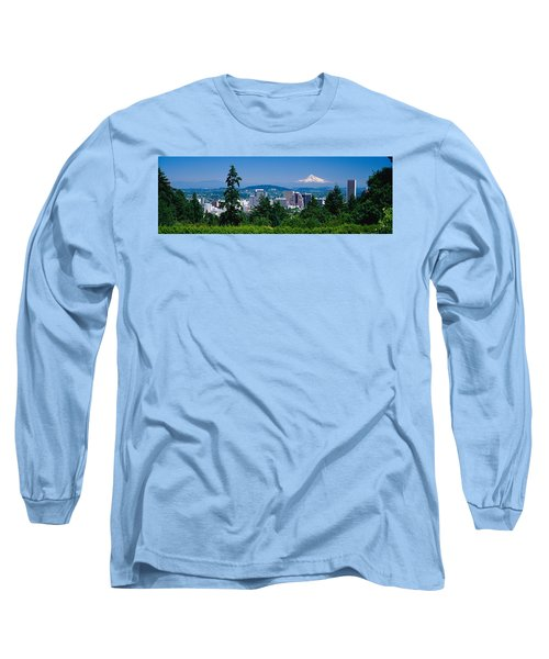 Mt Hood Portland Oregon Usa Long Sleeve T-Shirt