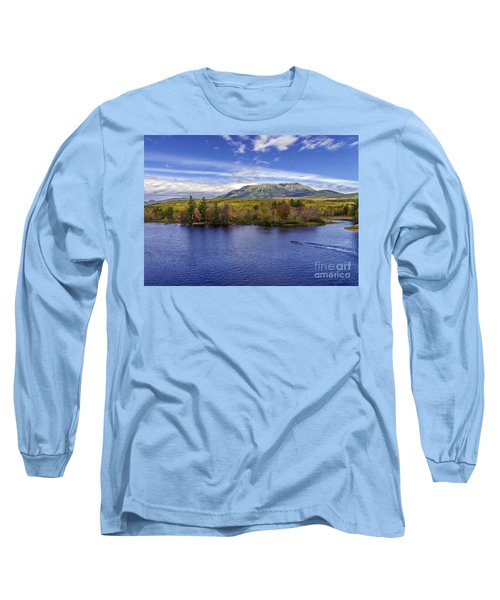 Mt Katahdin Hdr Long Sleeve T-Shirt