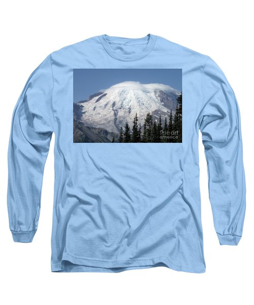 Mt. Rainier In August 2 Long Sleeve T-Shirt by Chalet Roome-Rigdon