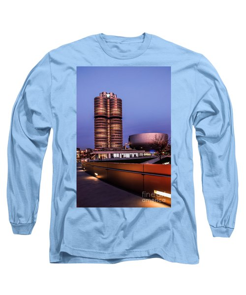 munich - BMW office - vintage Long Sleeve T-Shirt