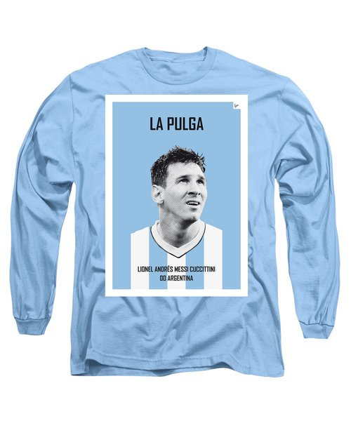 My Messi Soccer Legend Poster Long Sleeve T-Shirt