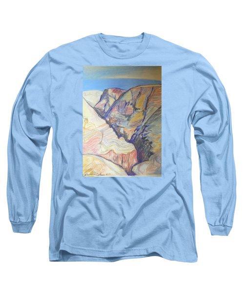 Nachal Darga Canyon Long Sleeve T-Shirt by Esther Newman-Cohen
