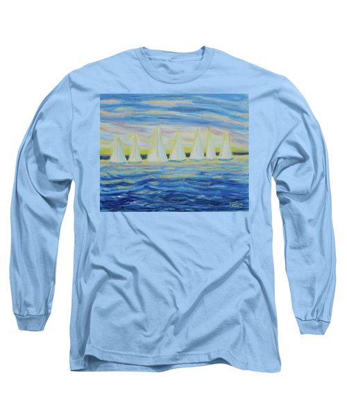 Nantucket Sunrise Long Sleeve T-Shirt