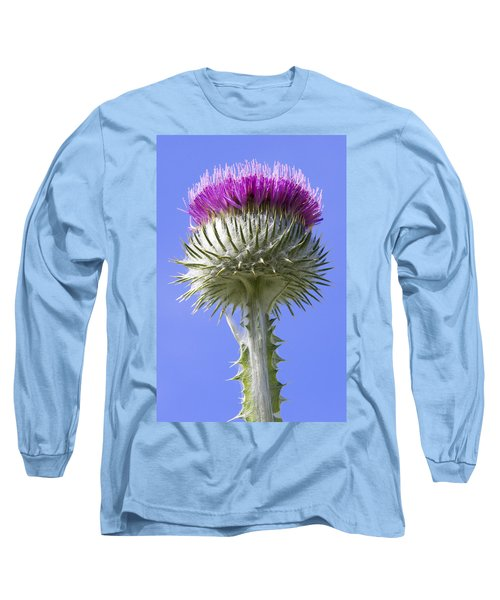 National Flower Of Scotland Long Sleeve T-Shirt