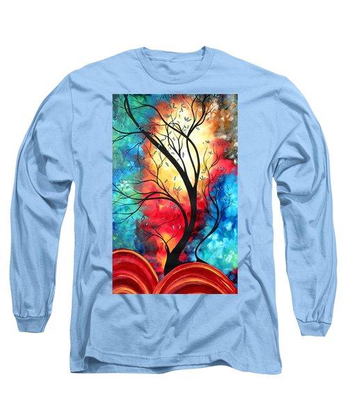 New Beginnings Original Art By Madart Long Sleeve T-Shirt