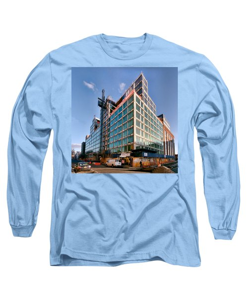 New Neighbors Long Sleeve T-Shirt by Steve Sahm