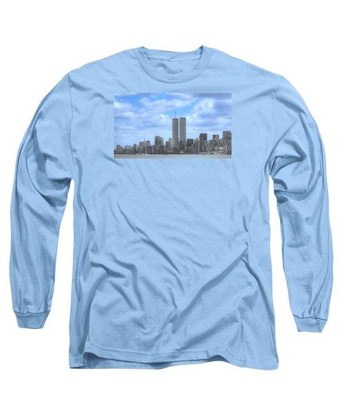 New York City Twin Towers Glory - 9/11 Long Sleeve T-Shirt