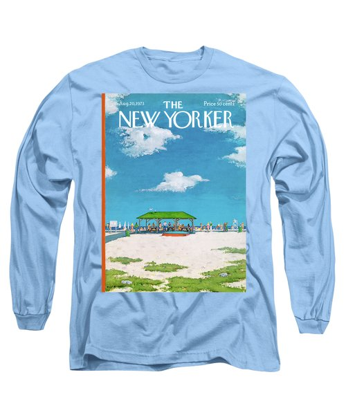 New Yorker August 20th, 1973 Long Sleeve T-Shirt