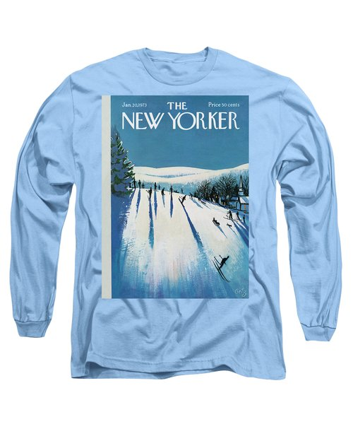 New Yorker January 20th, 1973 Long Sleeve T-Shirt