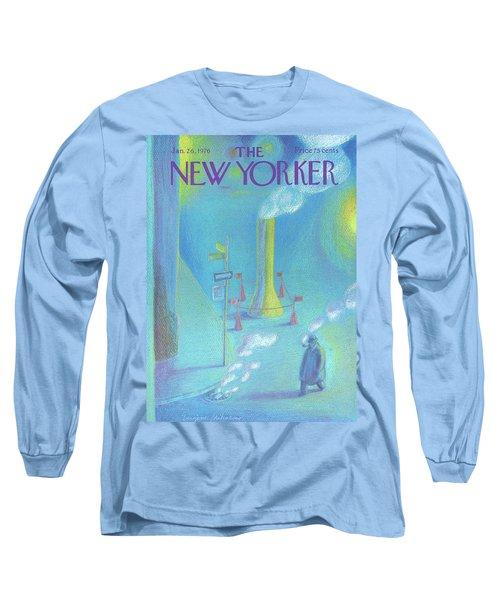 New Yorker January 26th, 1976 Long Sleeve T-Shirt