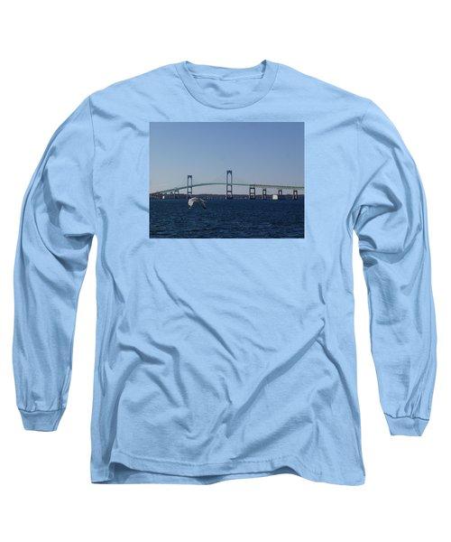 Newport Bridge Long Sleeve T-Shirt