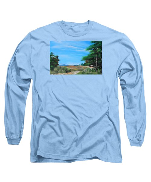 Nipa Hut In The Barrio Long Sleeve T-Shirt