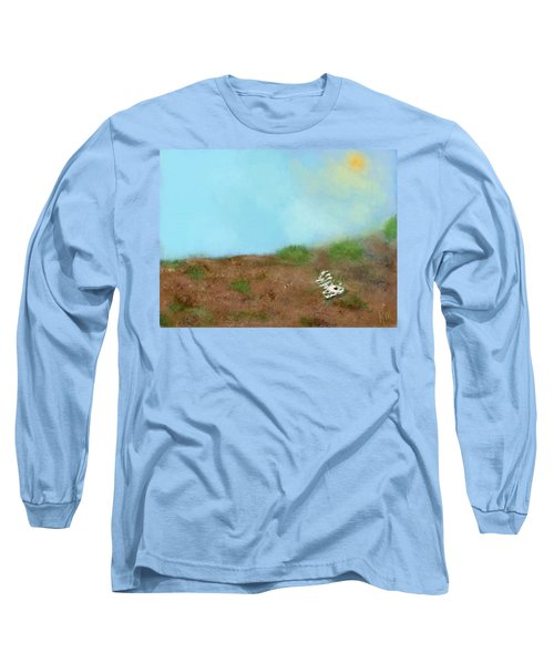 No Man's Land Long Sleeve T-Shirt by Renee Michelle Wenker