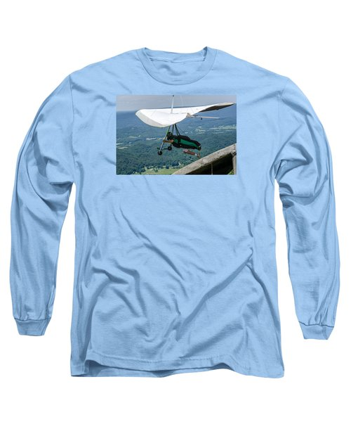 Long Sleeve T-Shirt featuring the photograph No Turning Back by Susan  McMenamin