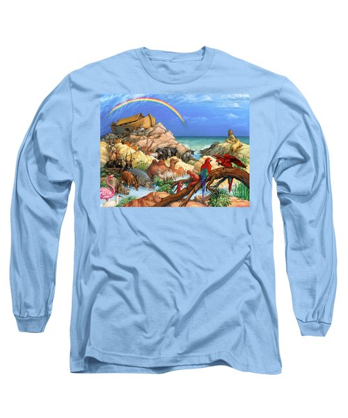 Noah And The Ark Long Sleeve T-Shirt
