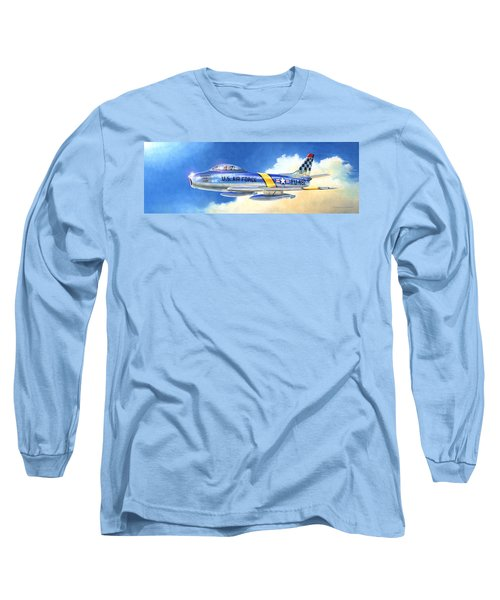 North American F-86f Sabre Long Sleeve T-Shirt