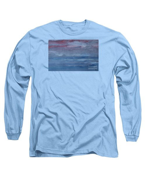 Northern Evening Long Sleeve T-Shirt by Susan  Dimitrakopoulos