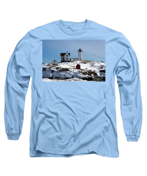 Nubble Light 2 Long Sleeve T-Shirt by Kevin Fortier