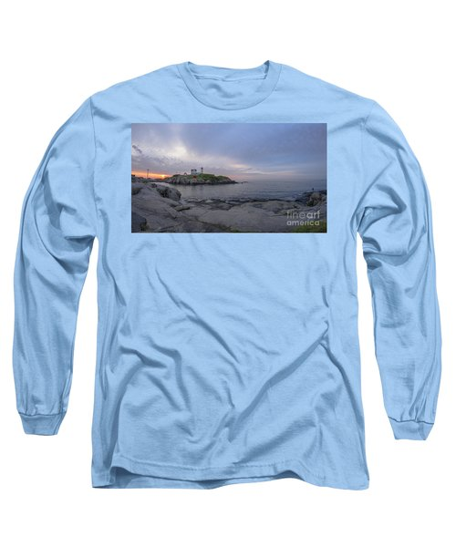 Nubble Lighthouse Long Sleeve T-Shirt