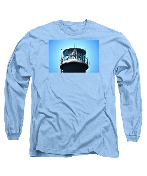 Oak Island Lighthouse Beacon Lights Long Sleeve T-Shirt by Sandi OReilly