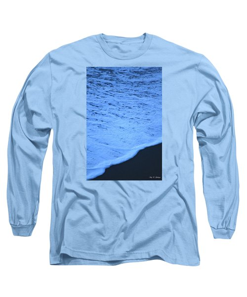 Long Sleeve T-Shirt featuring the photograph Ocean Blues by Amy Gallagher