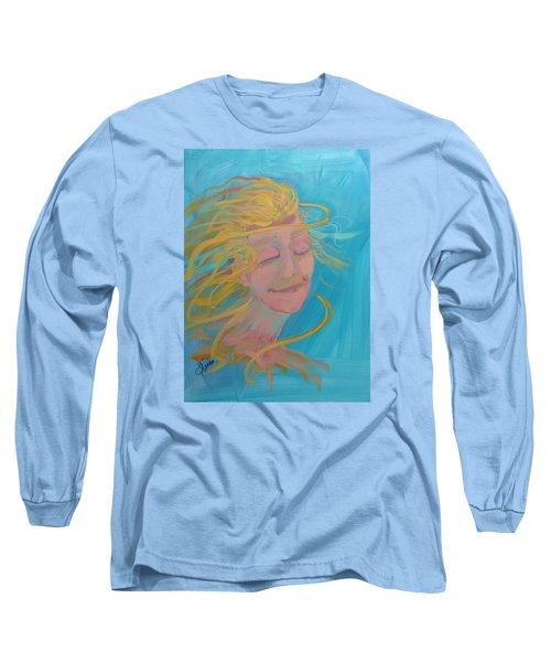 Ocean Breeze Long Sleeve T-Shirt by Terri Einer