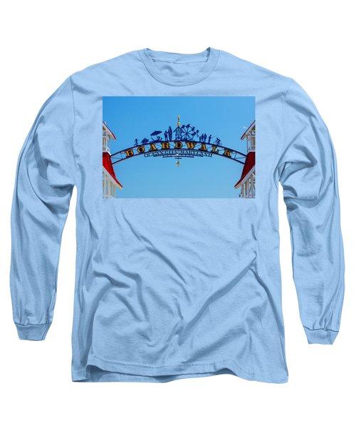 Ocean City Boardwalk Arch Long Sleeve T-Shirt