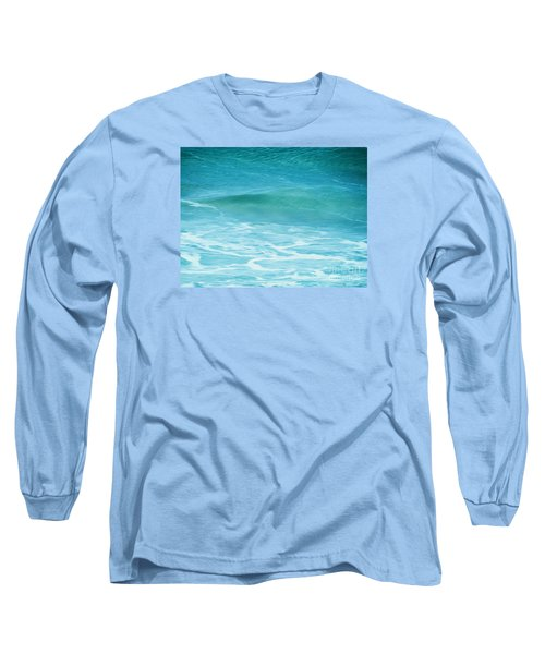 Long Sleeve T-Shirt featuring the photograph Ocean Lullaby by Roselynne Broussard