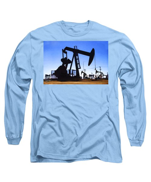 Oil Fields Long Sleeve T-Shirt