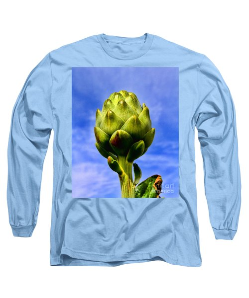 Okey Dokey Artie Choke E Artichokes By Diana Sainz Long Sleeve T-Shirt