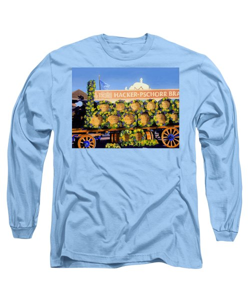 Long Sleeve T-Shirt featuring the painting Oktoberfest by Lynne Reichhart