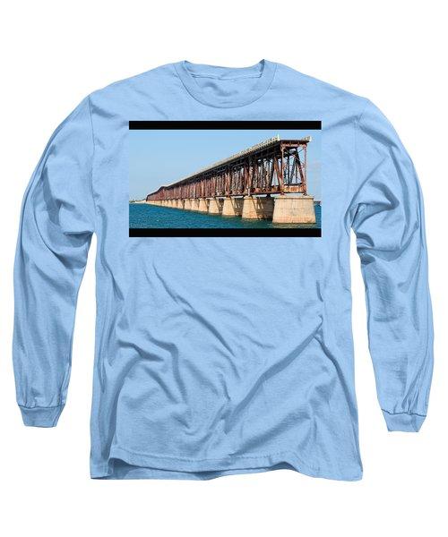 Old Bahia Honda Bridge 2 Long Sleeve T-Shirt