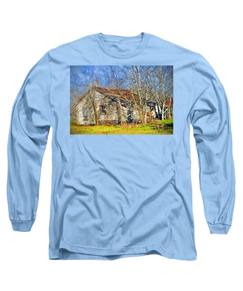 Old House Long Sleeve T-Shirt by Savannah Gibbs