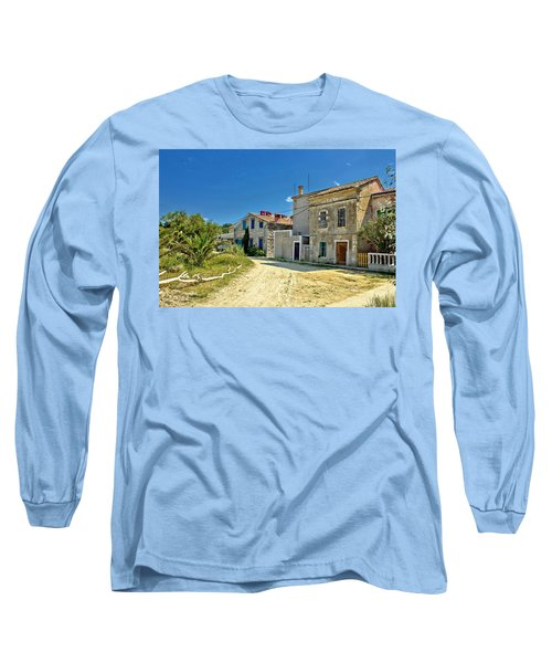Old Streets Of Susak Island Long Sleeve T-Shirt