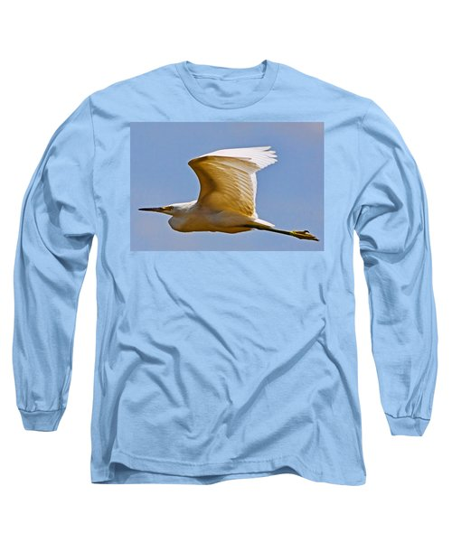 On Angel's Wings Long Sleeve T-Shirt