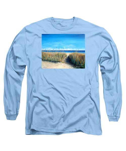 Open Invitation Long Sleeve T-Shirt by Laurie Morgan