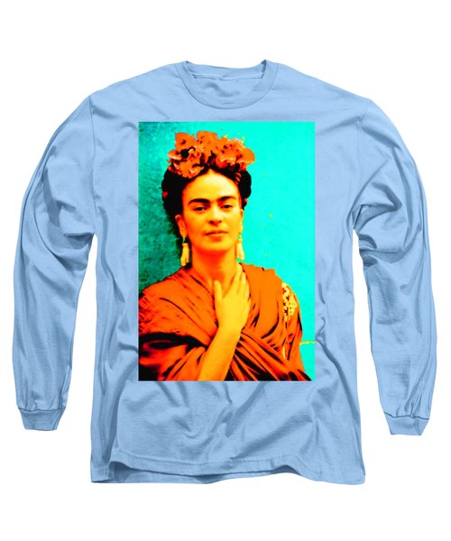 Orange You Glad It Is Frida Long Sleeve T-Shirt