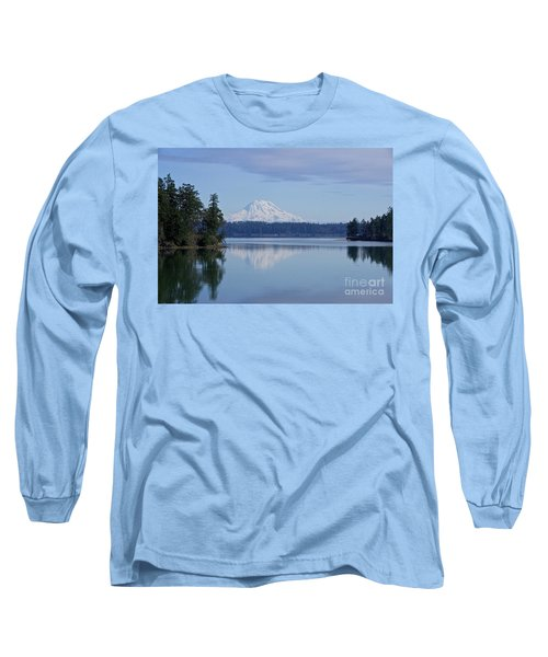 Long Sleeve T-Shirt featuring the photograph Oro Bay Reflection by Sean Griffin