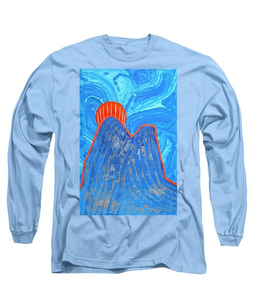 Os Dois Irmaos Original Painting Sold Long Sleeve T-Shirt by Sol Luckman