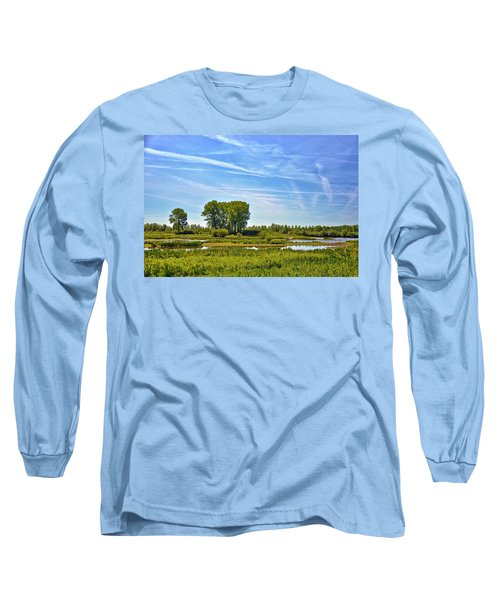 Ossenwaard Near Deventer Long Sleeve T-Shirt by Frans Blok