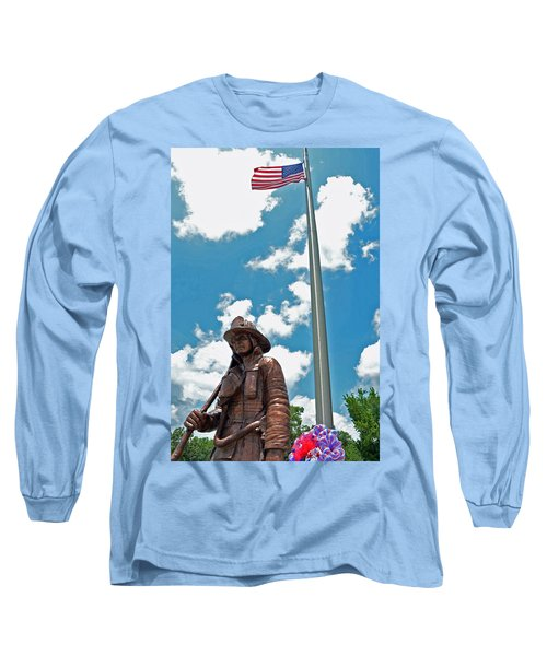 Long Sleeve T-Shirt featuring the photograph Our Heroes by Charlotte Schafer