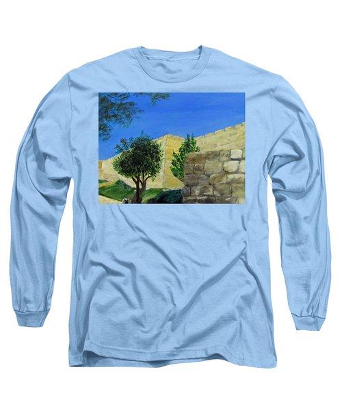 Outside The Wall - Jerusalem Long Sleeve T-Shirt