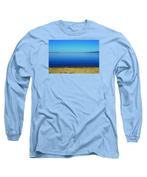 Long Sleeve T-Shirt featuring the photograph Overflow by Rima Biswas