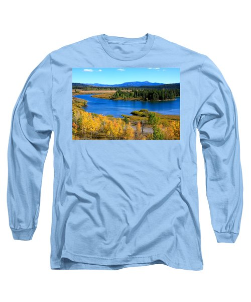 Oxbow Bend, Grand Teton National Park Long Sleeve T-Shirt