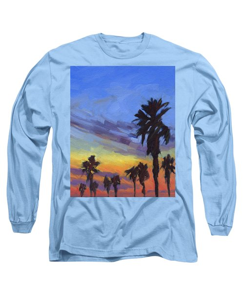 Pacific Sunset 2 Long Sleeve T-Shirt