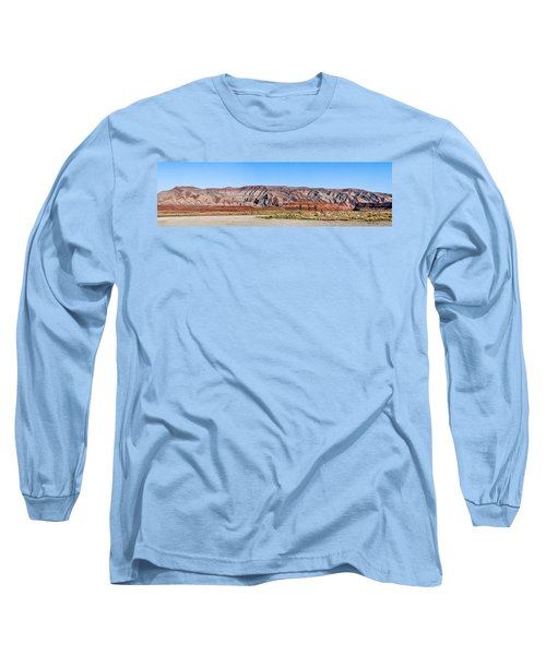 Long Sleeve T-Shirt featuring the photograph Painted Desert Mountain by Daniel Hebard