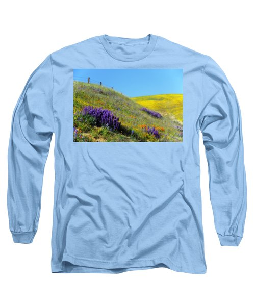 Painted With Wildflowers Long Sleeve T-Shirt