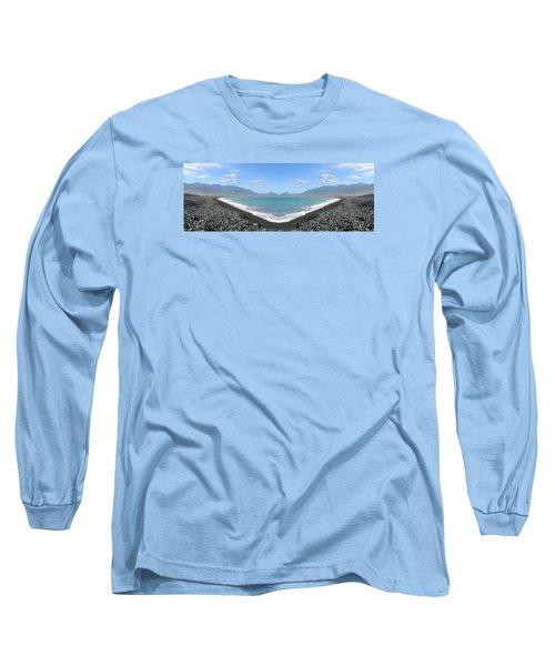 Panorama Lake Long Sleeve T-Shirt